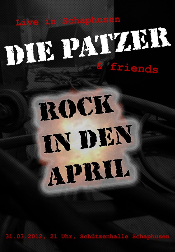 Flyer Rock in den April 2012